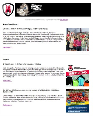 HHV-Newsletter 9/2014