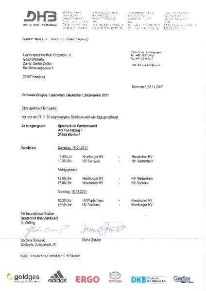 Hamburger Handball Verband Spielplan