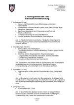 2. Einheit: Individuelle Abwehrschulung
