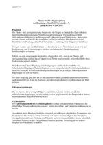 Finanz- und Auslagenregelung, Stand: 01.07.2011