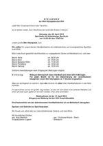 HHV-Mini-Olympiade 2012 - Einladung