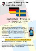 Gewinnspiel Deutschland – Schweden