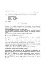 Urteil 01/2013 - Aumühle-Wohltorf - grob unsportliches Verhalten