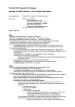 Protokoll Gespannschiedsrichterlehrgang 2009