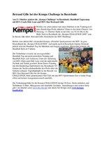 Presse-Info Kempa Challenge 2009