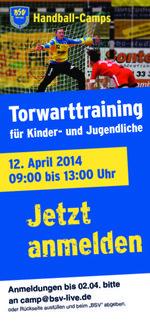 BSV Torwarttraining am 12.04.2013