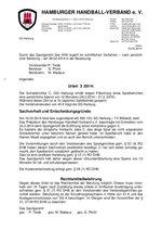 Urteil 03/2014 - SG Harburg - Urkundenfälschung