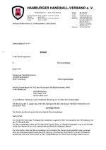 Urteil 01/2014 Verbandsgericht - Berufung wegen Urkundenfälschung