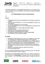DHB Stellenanzeige Verbandsassistent/-in