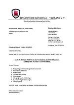 BSA Alster - Einladung Obleute 30.09.2014