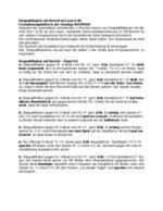 Formulierungsvorschläge bei Disqualifikationen