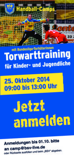 Buxtehuder SV  - Torwartcamp