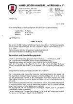 Urteil 06/2014 - SG Harburg - Beleidigung