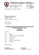 Einladung JA Vereine 2014