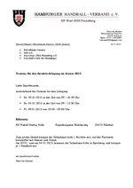 BSA PInneberg Einladung Lehrgang 2015