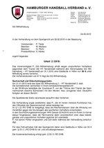Urteil 02/2015 - SGW - Beleidigung