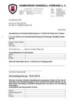 Anmeldung zum Grundschulaktionstag am 11.09.2015