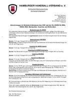 Abrechnungen im Schiedsrichterwesen des HHV 2015