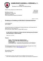 BSA Elbe - Fortbildung am 08.12.2015