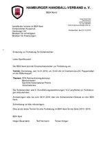 BSA Nord - Fortbildung am 14.01.2016