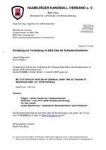 BSA Elbe - Fortbildung am 27.01.2016