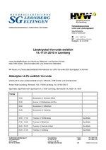 Einladung Länderpokal-Vorrunde weiblich 2010
