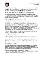 14.11.2009: Hanseatenturnier w95/m94 (Bericht von Steffen Greve und Frank Hamann)