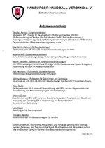 Aufgaben im Schiedsrichterausschuss