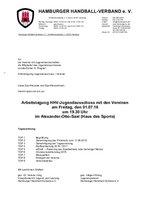 Tagesordnung JA + Vereine