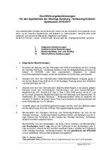 OL HH/SH Durchführungsbestimmungen 2016/17