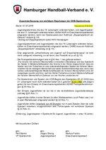 Zusammenfassung von Regelungen der DHB-Spielordnung 2016/17 – Stand: 27.09.2016