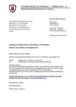 BSA Harburg - Einladung zur Regelschulung