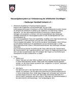 09.01.10: Hausaufgabensystem zur Verbesserung der athletischen Grundlagen (Beschreibung 2010)