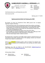 Spielausweiskontrolle bei SBO