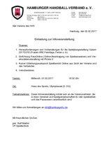EInladung zur Infoveranstaltung am 01.03.2017