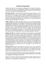 Bericht Kiensbaum 2017 von Mikel Geiger Gajate