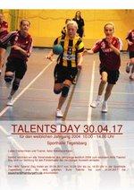 Einladung Talent's Day weiblich