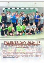 Einladung Talent's Day männlich
