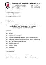 Einladung JA/Vereine 12.06.2017