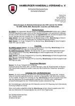 Schiedsrichterabrechnung HHV 2018