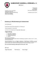 BSA Nord - Einladung zur Schirifortbildung