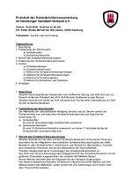 Protokoll Schiriversammlung 2018