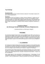 Verbandstag 2018 - Antrag Compliance-Regeln