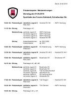 Jugend-Pokalendspiele 2018