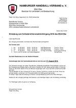 Schirilehrgang BSA Elbe 2018