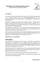 Z & S-Richtlinien Saison 2018/19 - OL HH/SH