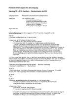 Protokoll Gespannschiedsrichterlehrgang vom 30.01.2010