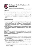 Pokalbestimmungen 2018/19