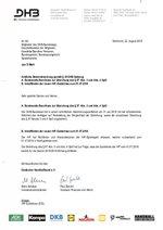 Amtliche Bekanntmachung (§50 DHB-Satzung)