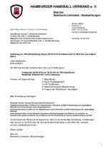Einladung Fortbildung BSA Ost